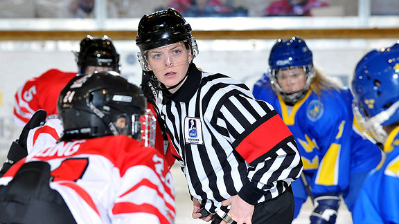 Nhl Female Referees In Professional Sports